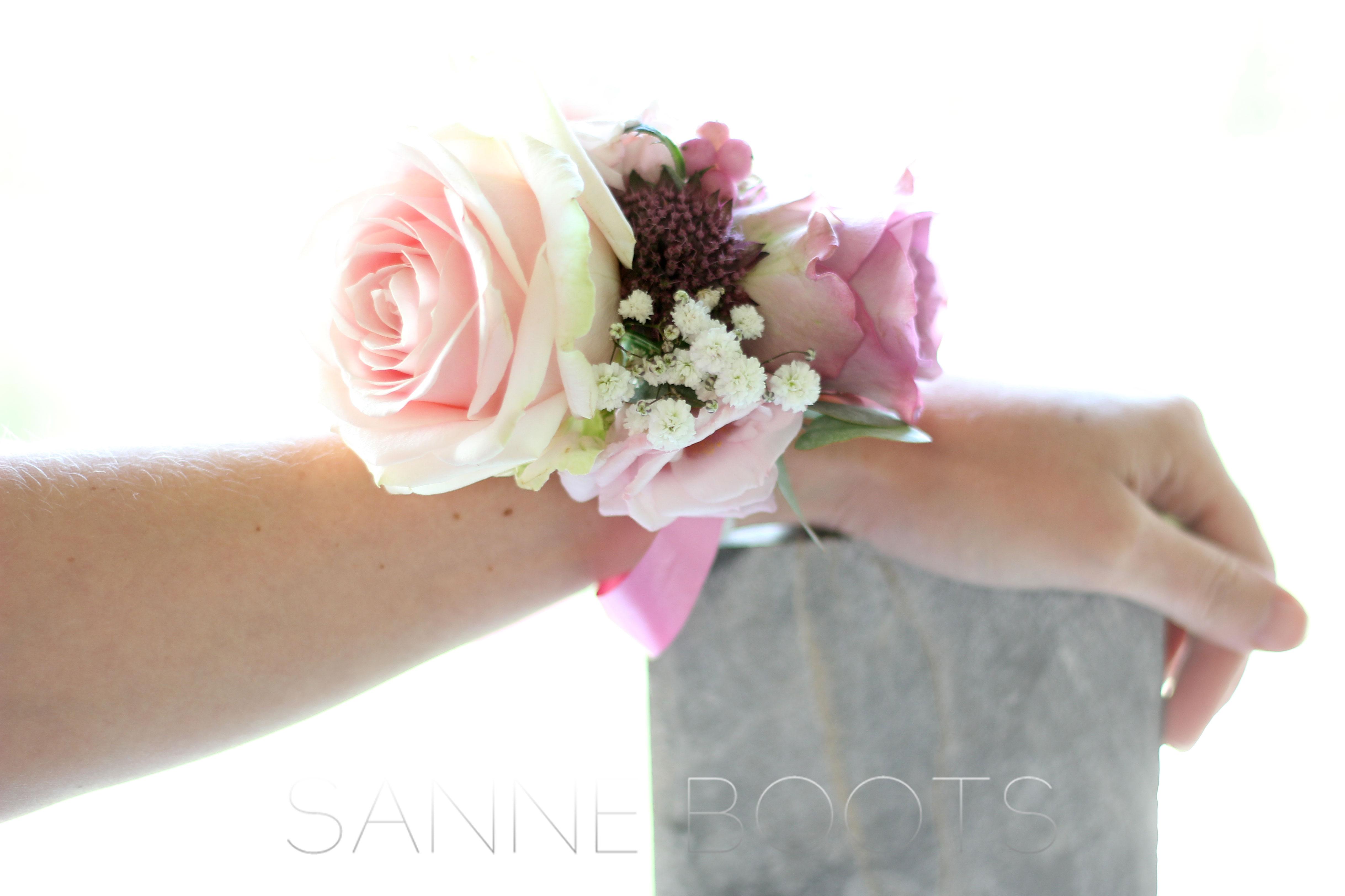 Polscorsage | Romantisch in roze en de perfecte vervanger van het bruidsboeket