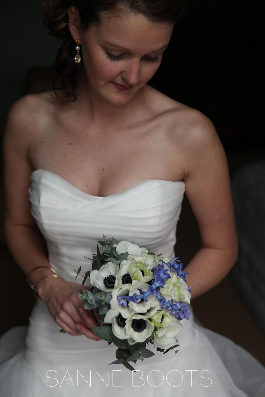 Bruidsboeket | Anemoon en geregen Hyacint