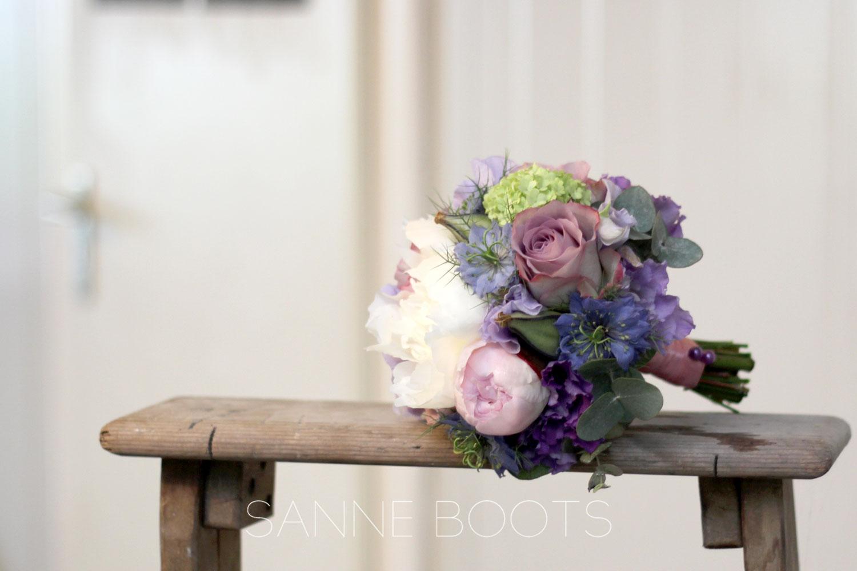 Bruidsmeisjesboeket | Zo(e) lief!