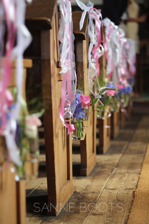 Kerkversiering | Prachtige 'Walk of fame'!