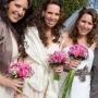 Bruidsmeisjesboeketjes   Rozen en rozen