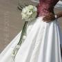 Bruidsboeket   Waterval met Lisianthus