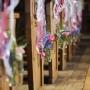 Kerkversiering   Prachtige 'Walk of fame'!